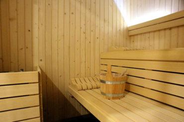 Intérieur du Sauna d'Uhaina Spa Urrugne